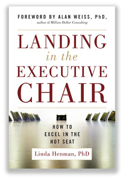 Landing In The Executive Chair Cover Image